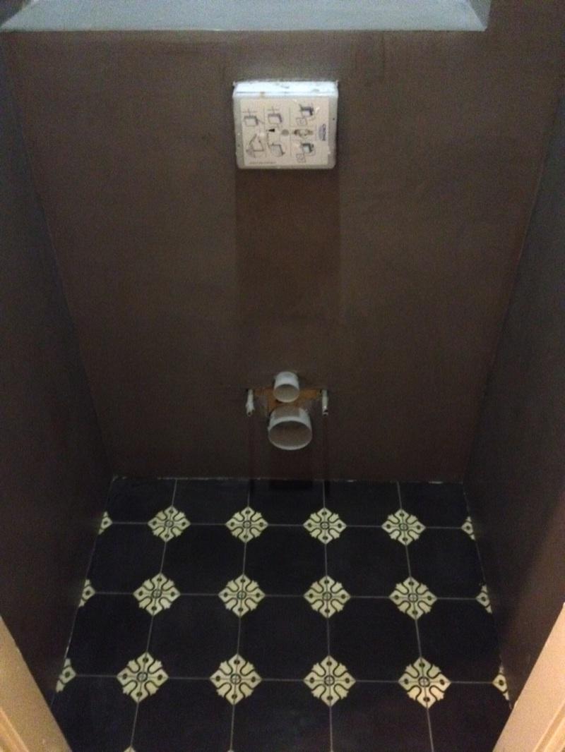 Toilet met Beton Cire
